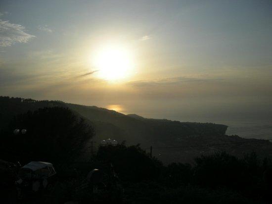 Hotel Prestige Sorrento: panorama al tramonto