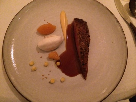 Eleven Madison Park : Roast Duck with the most delicious duck jus