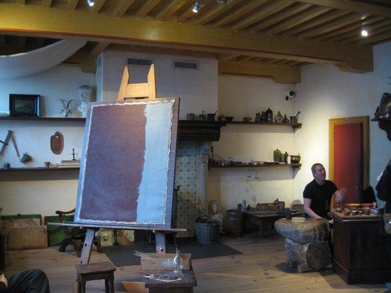 Musée de la maison de Rembrandt : В мастерской Рембрандта