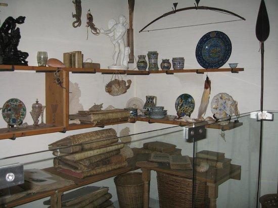 Musée de la maison de Rembrandt : Кунсткамера