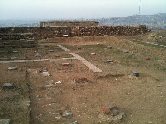 Erebuni Town-Fortress: Cortile interno