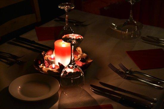 Portuguese Restaurant: Valentines decoration