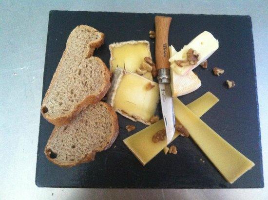 Le Plan Bois : l'ardoise du fromager chez Laurette