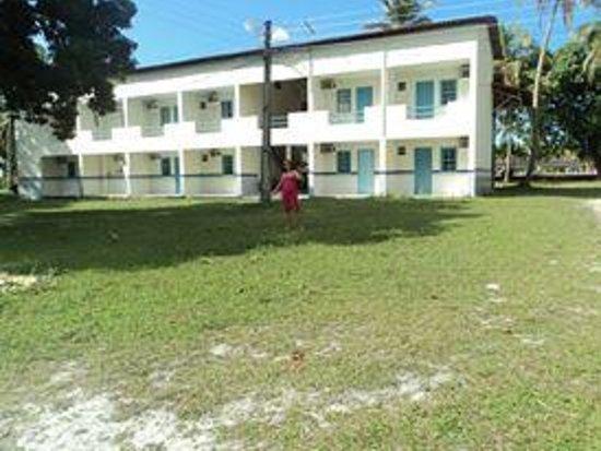 Jaguaripe, BA: Prédio que ficamos