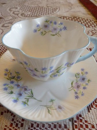 Fall Inn to Nature: Ask Annette about her collection of fine china tea cups and saucers.