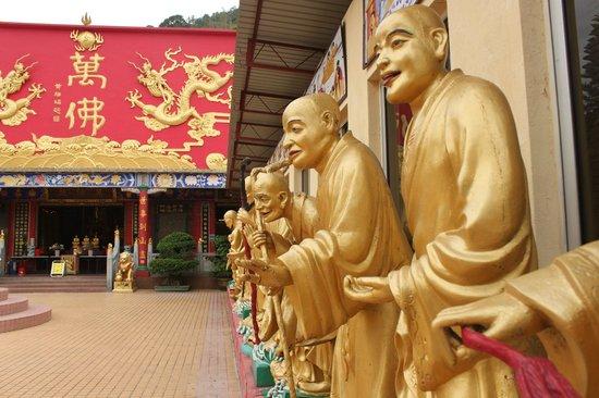 Ten Thousand Buddhas Monastery (Man Fat Sze) : 1000