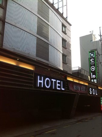 Hotel 2.4: Outside the hotel