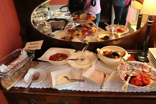 Devondell : A small section of the amazing breakfast buffet