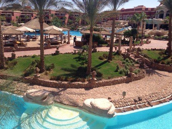 Laguna Vista Beach Resort: View from our room!