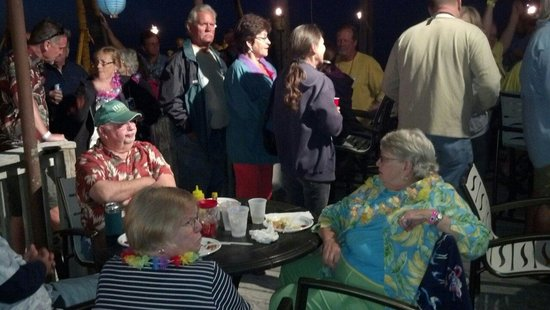 Fiesta Key RV Resort & Marina: Valentine's Day party and luau