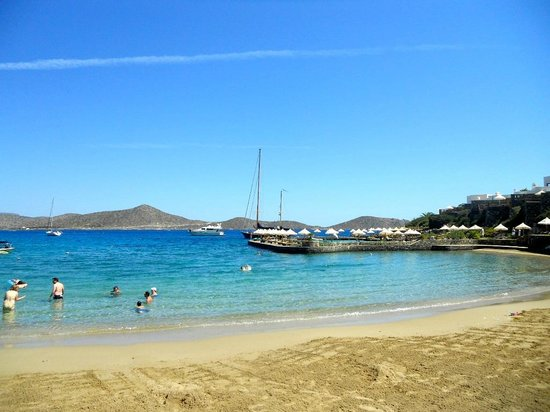 Porto Elounda Golf & Spa Resort: beach