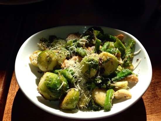 Cafe Verde : Brussels sprouts