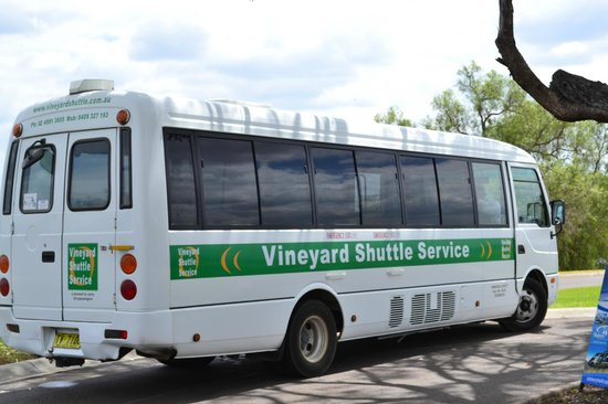 Vineyard Shuttle Service Daily Guided Winery Tours : Vineyard Shuttle Bus