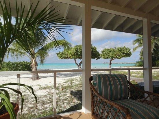 Cape Santa Maria Beach Resort & Villas : Zimmeraussicht/ Terrasse