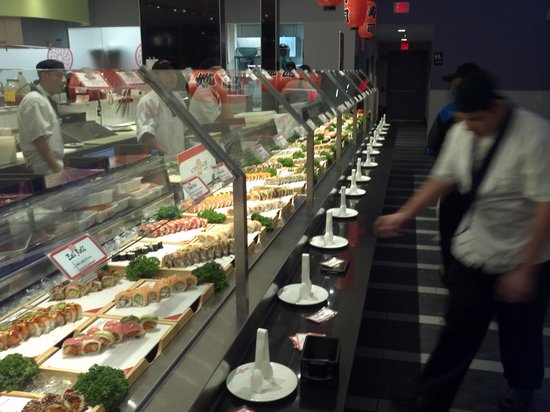Minado: That aisle of hand tools and sushi