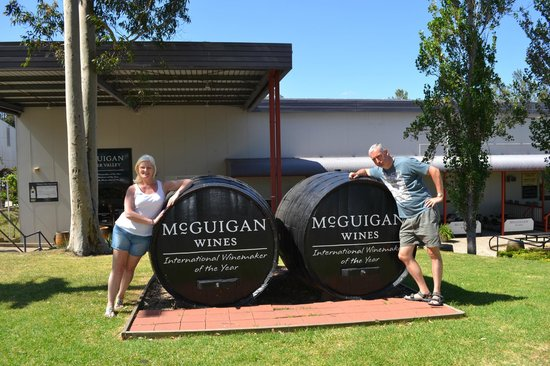 Vineyard Shuttle Service Daily Guided Winery Tours: McGuigan's Winery - Hunter Valley 2014