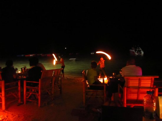 Your Place Bar: Fire show