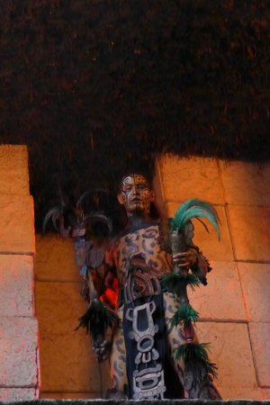 Xcaret Eco Theme Park: A Performer In the Evening Show