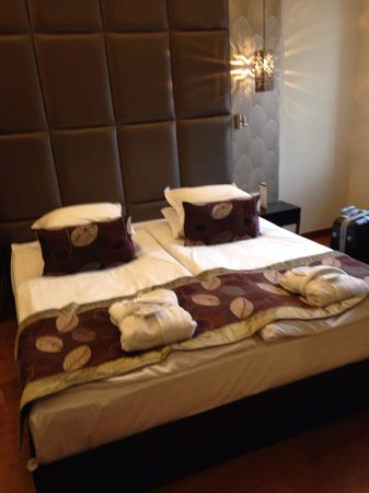 Continental Hotel Budapest: Camera superior