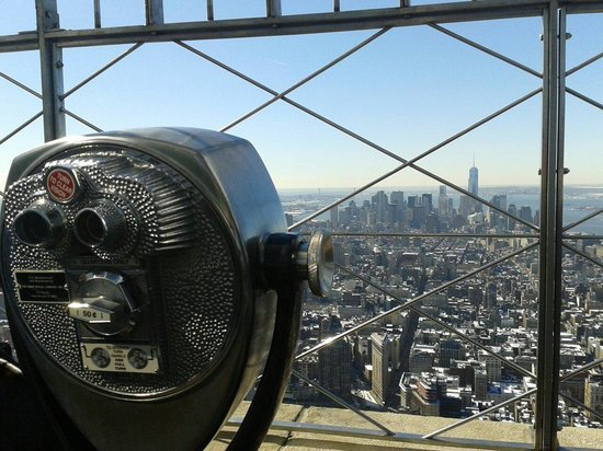 Empire State Building : Stunning views