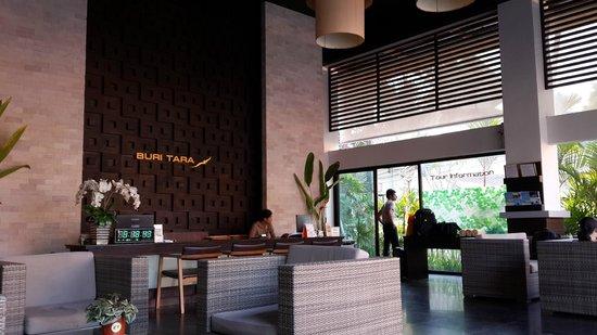 Buri Tara Resort: Reception