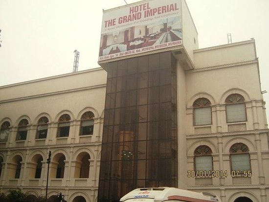The Grand Imperial, Agra: front of the hotel