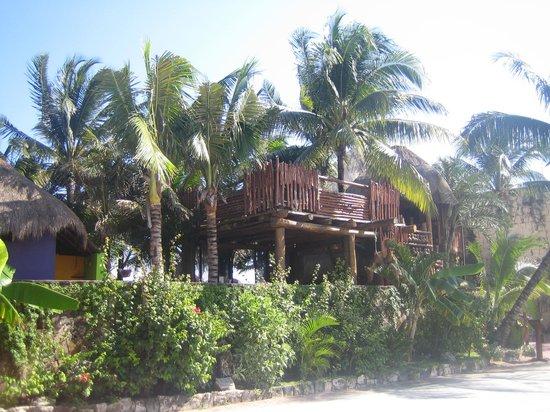 La Buena Vida Restaurant : View of La Buena Vida from the road