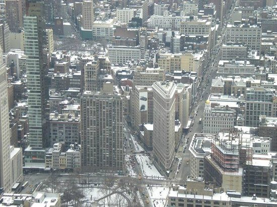 Empire State Building: A view from the top
