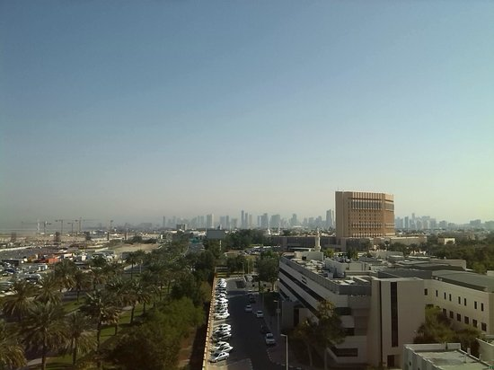 EWA Dubai Deira Hotel: View from the roof area