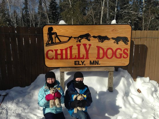 Chilly Dogs Sled Dog Trips: Satisfied customers!