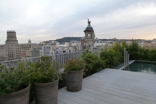 Mandarin Oriental, Barcelona: another view from roof