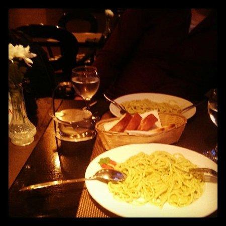 EGO restaurant: Spaghetti Pesto...
