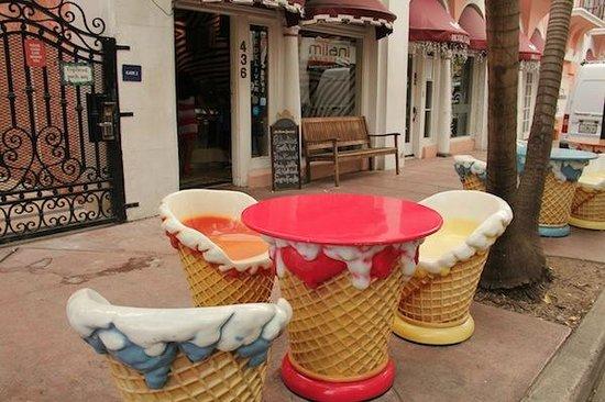 Miami Culinary Tours - Private Tours : Um gelato italiano fechou o tour com chave de ouro!!