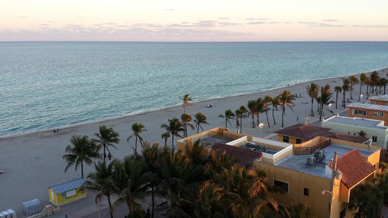 Hollywood Beach Marriott: View from Balcony