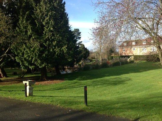 Mercure Shrewsbury Albrighton Hall Hotel and Spa: Gardens