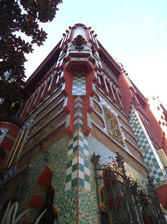 Casa Vicens: vista angolare