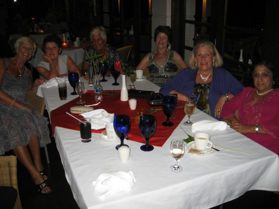 Bel Jou Hotel: The girls night before we left.