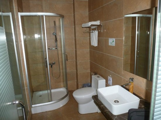 Guilin Homeland Riverview Hotel: Shower and bath were clean