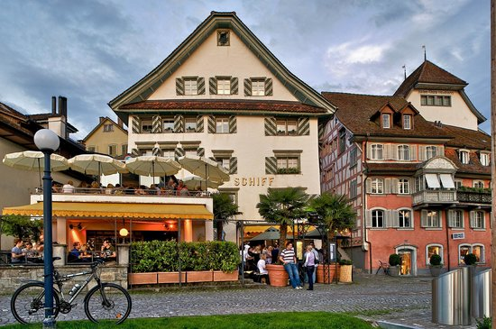 Цуг, Швейцария: Restaurant Schiff