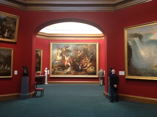 Scottish National Portrait Gallery: A piece to stand back and admire