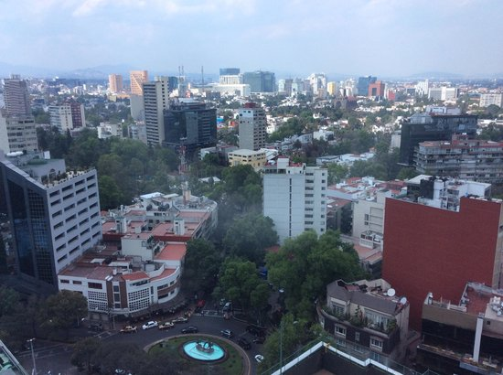 Hyatt Regency Mexico City: View from our room