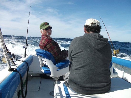 JC's Sportfishing: Waiting on our fist fish