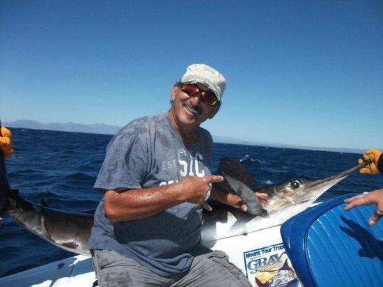 JC's Sportfishing: Tony with the first Marlin