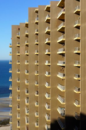 Las Palomas Beach & Golf Resort : Rooms facing the Gult.