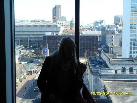 Hyatt Regency Birmingham: view from the hotel