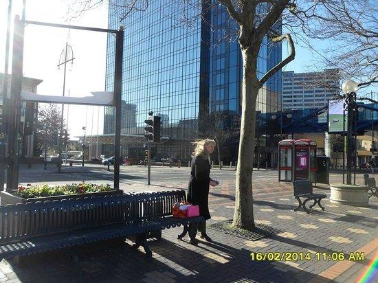 Hyatt Regency Birmingham: the hotel across the road from birmingham Rep