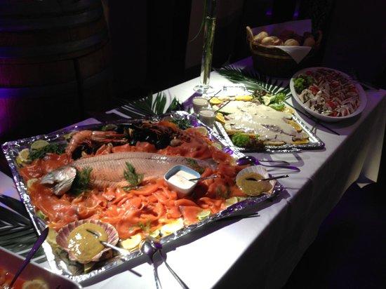 Restaurant Schiff: Lachs