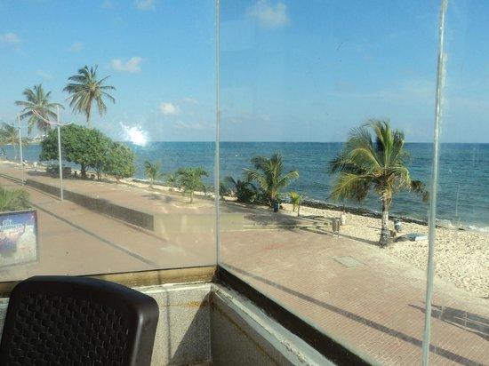Hotel Calypso : vista comedor