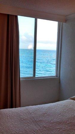 Hotel Calypso: habitación lado izquierdo
