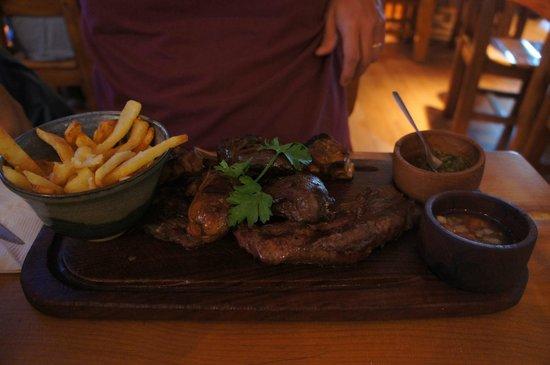 Placeres Patagonicos: Tábua de carne